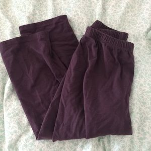 Flax leggings